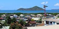 Vue panoramique de Mayotte