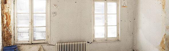 Intérieur de maison - précarité énergétique