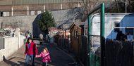 Le bidonville de Tamaris à Alès