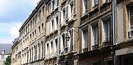 Immeubles du centre-ville de Sedan